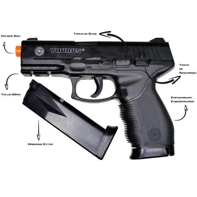 7 hpa 5 666x666 - Pistola de Airsoft Cybergun Taurus 24/7 HPA