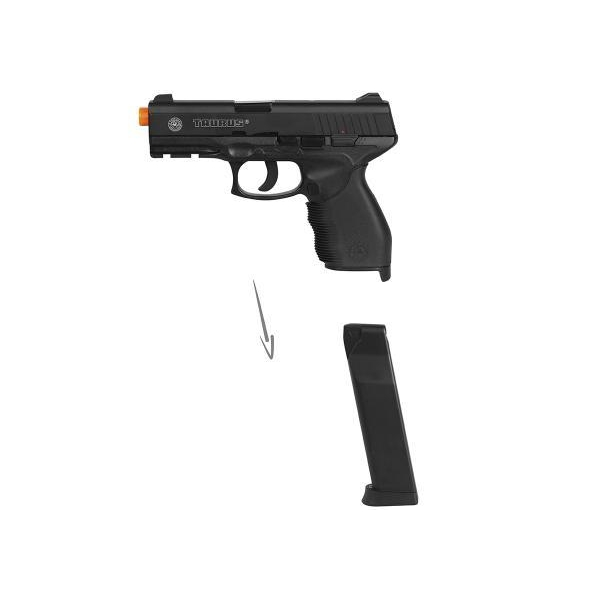 7 semi metal 1 - Pistola Airsoft Cybergun Taurus 24/7 Semi-metal
