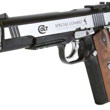 Colt Special Combat Pstol Colt 2254025 zm2 366x366 - Pistola Pressao Colt M1911 Special 4,5mm