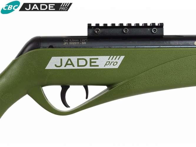 carabina de presso jade pro verde 55 mm cbc chumbo 666x500 - Carabina Pressao CBC Jade Pro OX PP 5,5mm