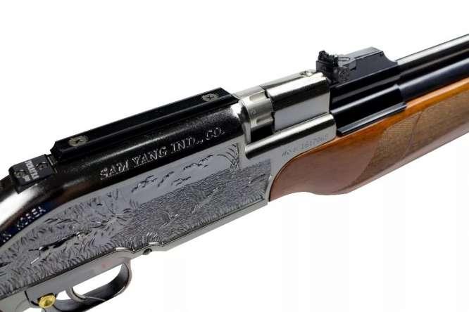 carabina de presso sumatra 500cc pcp 55mm 1 666x444 - Carabina de Pressão Sumatra 500 PCP Action