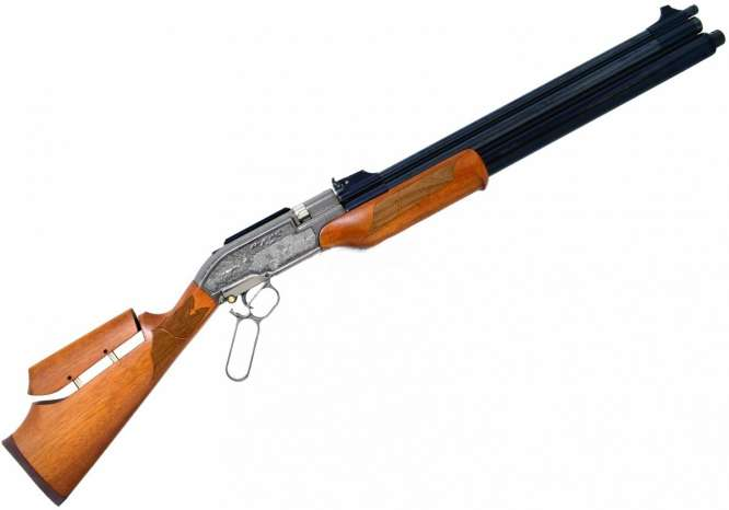 carabina de presso sumatra 500cc pcp 55mm 666x466 - Carabina de Pressão Sumatra 500 PCP Action