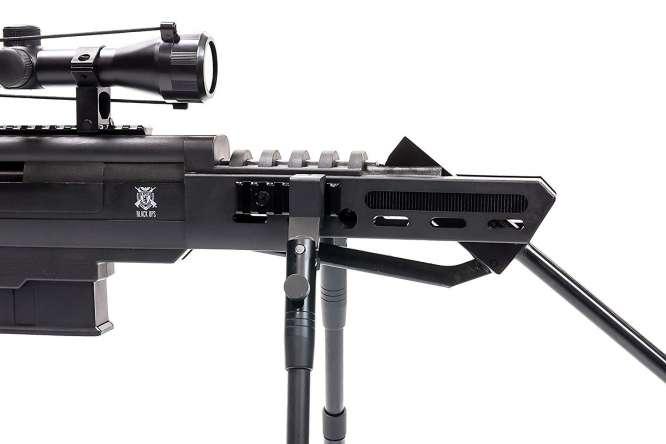 carabina pressao black ops 55mm 3 666x444 - Carabina Pressao Black Ops 5,5mm