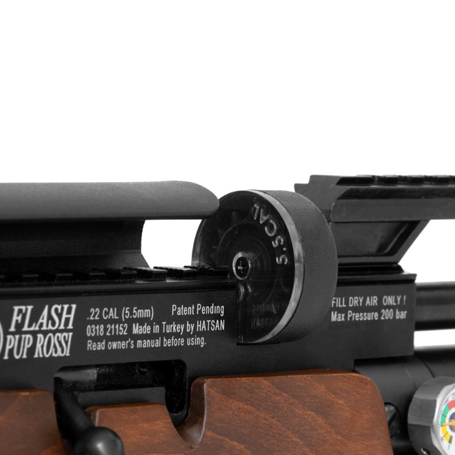carabina pressao hatsan pcp flashpup 55mm 2 - Carabina Pressao Hatsan PCP Flashpup 5,5mm