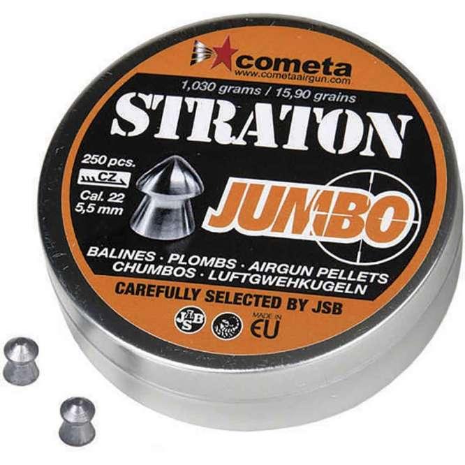 chumbinho jsb jumbo strato 55mm 250 666x666 - Chumbinho JSB Jumbo Straton 5,5mm 250und