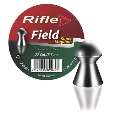 chumbinho super field 55mm 366x366 - Chumbinho Rifle Super Field 5,5mm