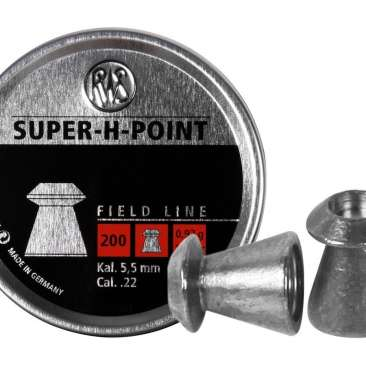 chumbinho super h point 55mm 366x366 - Chumbinho RWS Super H Point 5,5mm