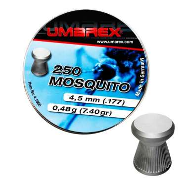 chumbinho umarex mosquito 55 366x366 - Chumbinho Umarex Mosquito 5,5mm