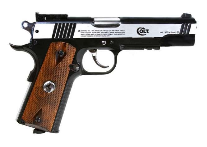colt 1911 special combat bb pistol 40 666x476 - Pistola Pressao Colt M1911 Special 4,5mm