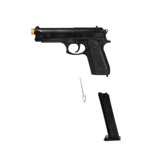 pistola airsoft cybergun taurus pt92 plastico 3 666x666 - Pistola Airsoft Cybergun Taurus PT92 - Plástico