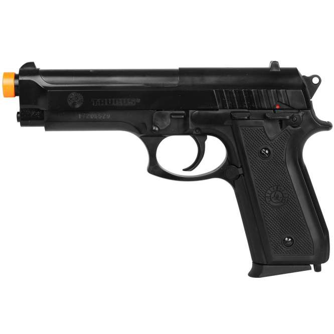 pistola airsoft cybergun taurus pt92 plastico 4 666x666 - Pistola Airsoft Cybergun Taurus PT92 - Plástico