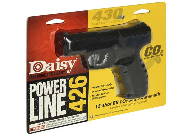 pistola de pressao daisy 426 co2 45mm 666x466 - Pistola de Pressao Daisy 426 CO2 4,5mm