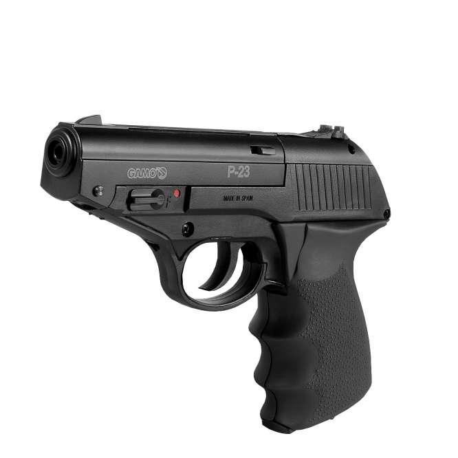 pistola de pressao gamo combat p 23 4 666x666 - Pistola de Pressão Gamo Combat P-23 CO2 4,5mm - Com Maleta Rígida