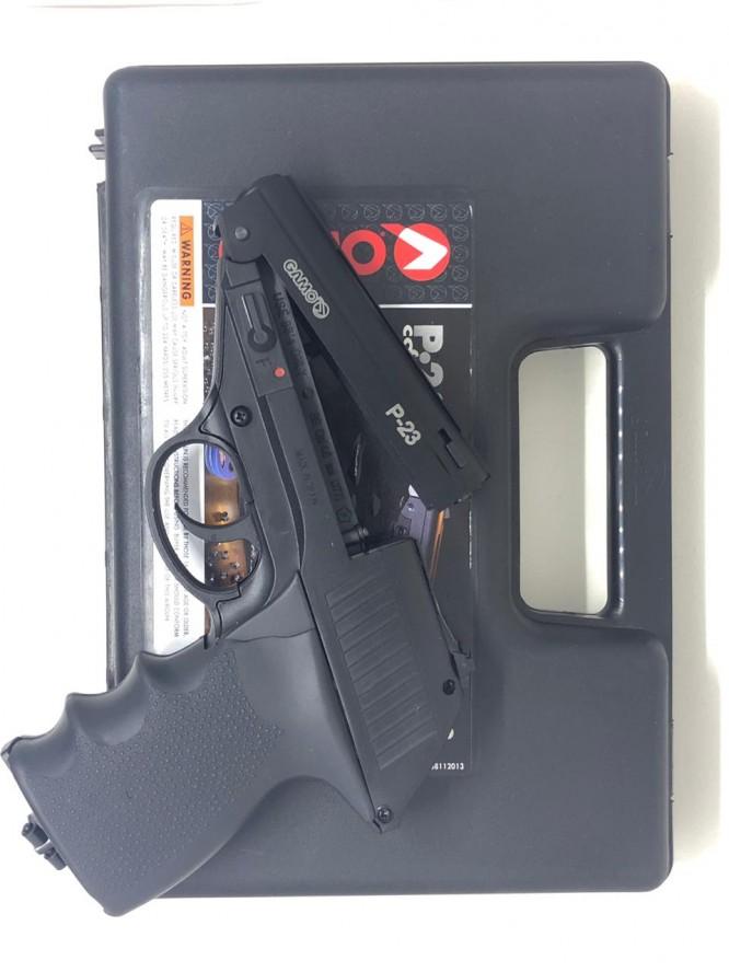 pistola de pressao gamo combat p 23 co2 45mm 666x888 - Pistola de Pressão Gamo Combat P-23 CO2 4,5mm - Com Maleta Rígida