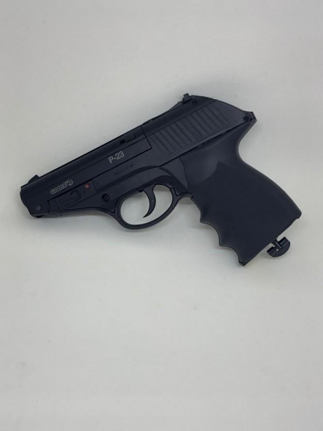 pistola de pressao gamo combat p 23 co2 45mm 7 666x888 - Pistola de Pressão Gamo Combat P-23 CO2 4,5mm - Com Maleta Rígida