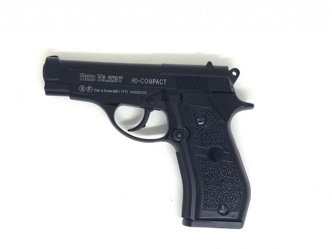 pistola de pressao gamo red alert compact co2 45mm 2 666x500 - Pistola de Pressão Gamo Red Alert Compact CO2 4,5mm