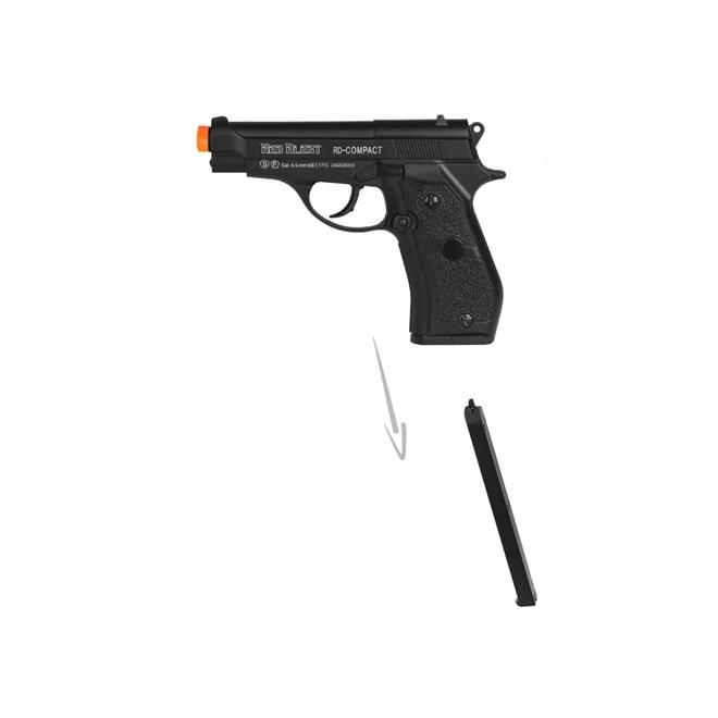 pistola de pressao gamo red alert compact co2 45mm 3 - Pistola de Pressão Gamo Red Alert Compact CO2 4,5mm