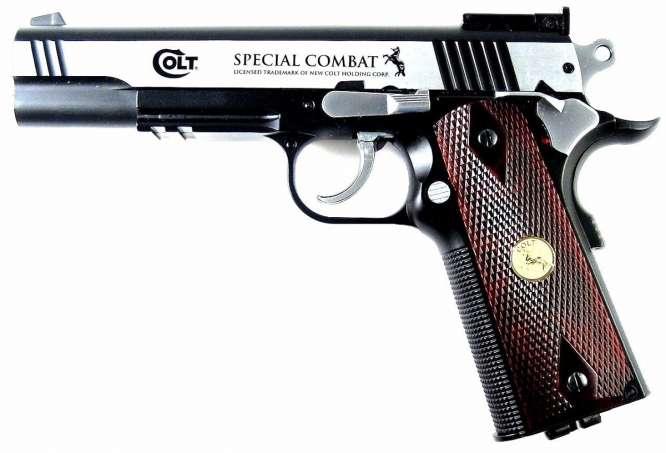 pistola de presso co2 colt special combat 45m frete gratis D NQ NP 926044 MLB25588909703 052017 F 666x453 - Pistola Pressao Colt M1911 Special 4,5mm