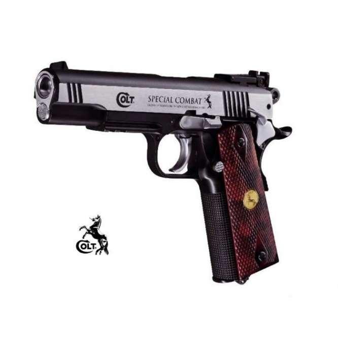 pistola de presso co2 umarex colt 1911 special combat 45mm D NQ NP 819334 MLB26704386754 012018 F 666x666 - Pistola Pressao Colt M1911 Special 4,5mm