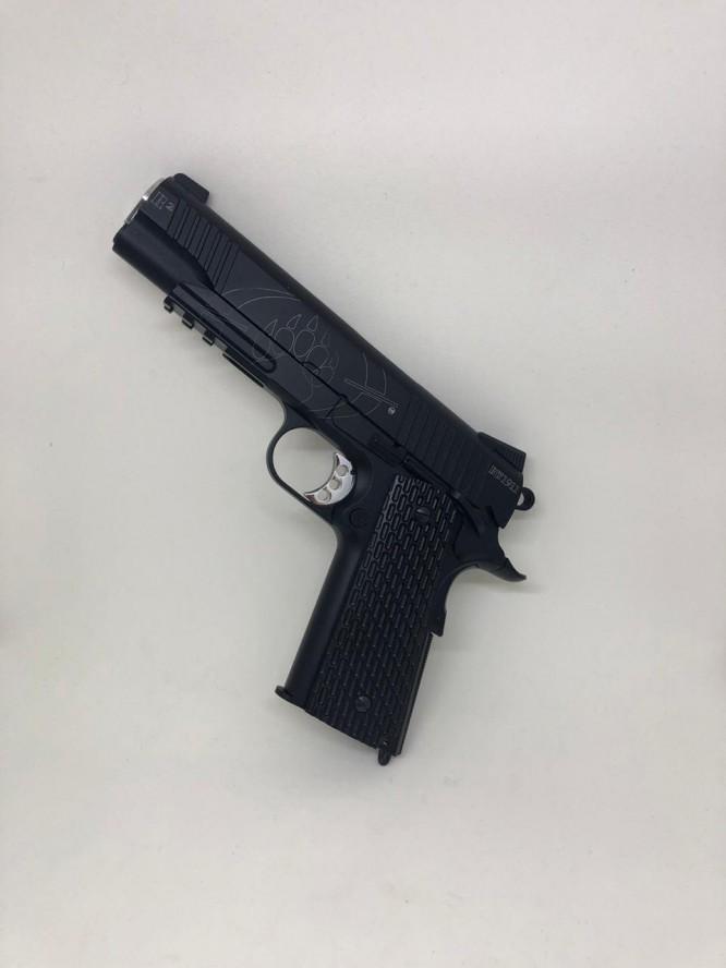 pistola pressao black w. bw1911 r2.4 1 666x888 - Pistola Pressão Black Water 1911 - Blow Back