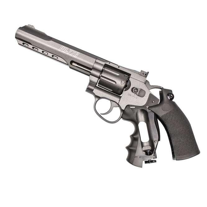 pistola pressao chumbinho 45 co2 revolver gamo pr 776 D NQ NP 818598 MLB26524394354 122017 F 666x666 - Revolver Pressao Gamo Pr-776 4,5mm