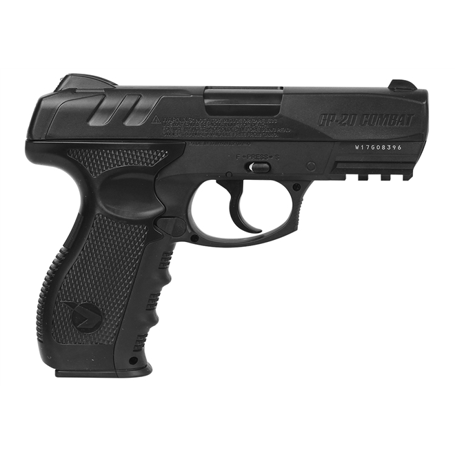 pistola pressao gamo gp 20 combat 45mm 1 - Pistola de Pressão Gamo GP 20 Combat CO2 4,5mm