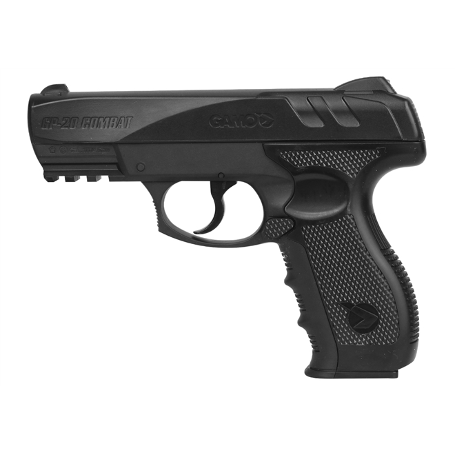 pistola pressao gamo gp 20 combat 45mm 2 - Pistola de Pressão Gamo GP 20 Combat CO2 4,5mm