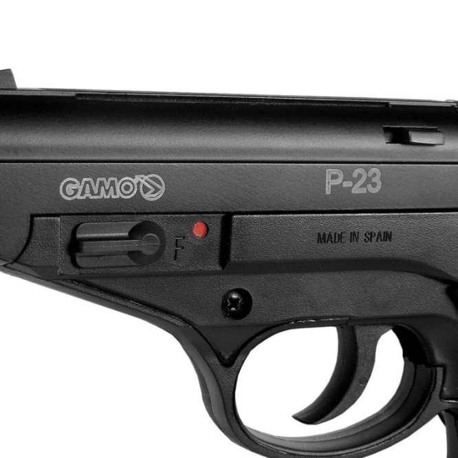 pistola pressao gamo p 23 45mm 1 666x666 - Pistola Pressao Gamo P-23 4,5mm
