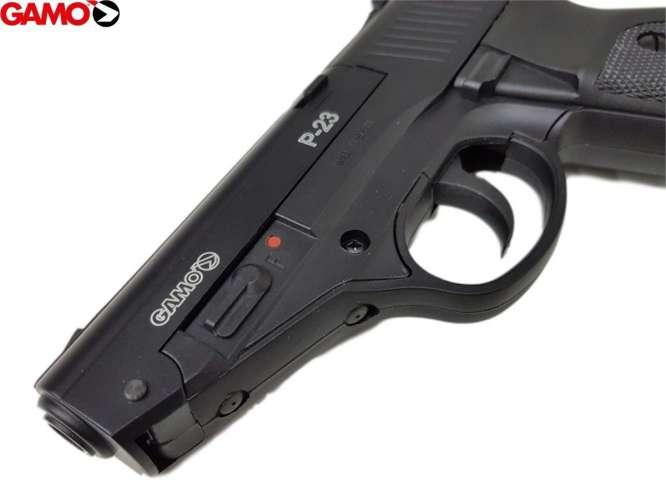 pistola pressao gamo p 23 45mm 2 666x500 - Pistola Pressao Gamo P-23 4,5mm