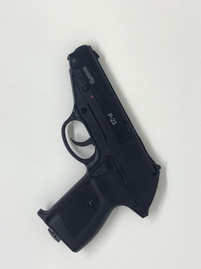 pistola pressao gamo p 23 45mm 2 666x888 - Pistola Pressão Gamo P-23 4,5mm