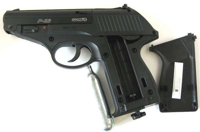 pistola pressao gamo p 23 45mm 3 666x439 - Pistola Pressao Gamo P-23 4,5mm