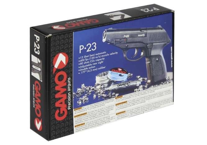 pistola pressao gamo p 23 45mm 5 666x466 - Pistola Pressao Gamo P-23 4,5mm
