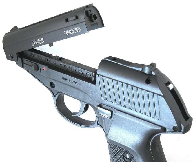 pistola pressao gamo p 23 45mm 666x559 - Pistola Pressao Gamo P-23 4,5mm
