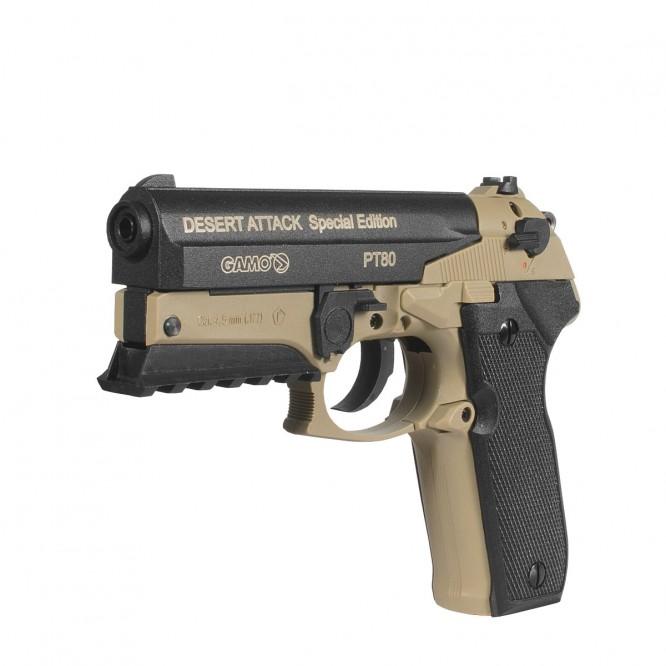 pistola pressao gamo pt 80 desert attack 45mm 1 666x666 - Pistola Pressao Gamo PT-80 Desert Attack CO2 4,5mm