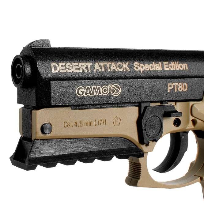 pistola pressao gamo pt 80 desert attack 45mm 4 666x666 - Pistola Pressao Gamo PT-80 Desert Attack CO2 4,5mm