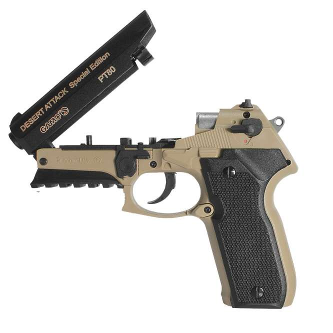 pistola pressao gamo pt 80 desert attack 45mm 5 666x666 - Pistola Pressao Gamo PT-80 Desert Attack CO2 4,5mm