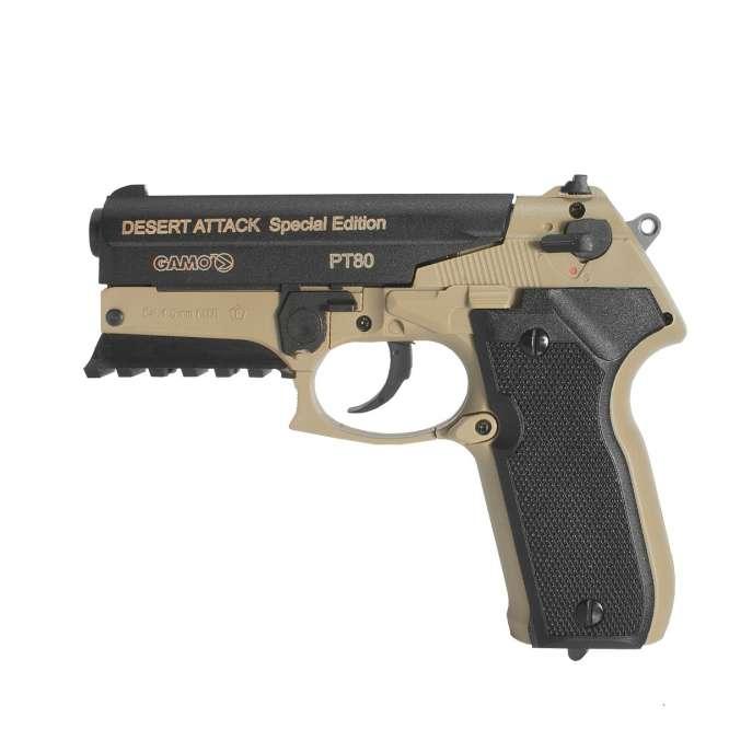 pistola pressao gamo pt 80 desert attack 45mm 6 666x666 - Pistola Pressao Gamo PT-80 Desert Attack CO2 4,5mm