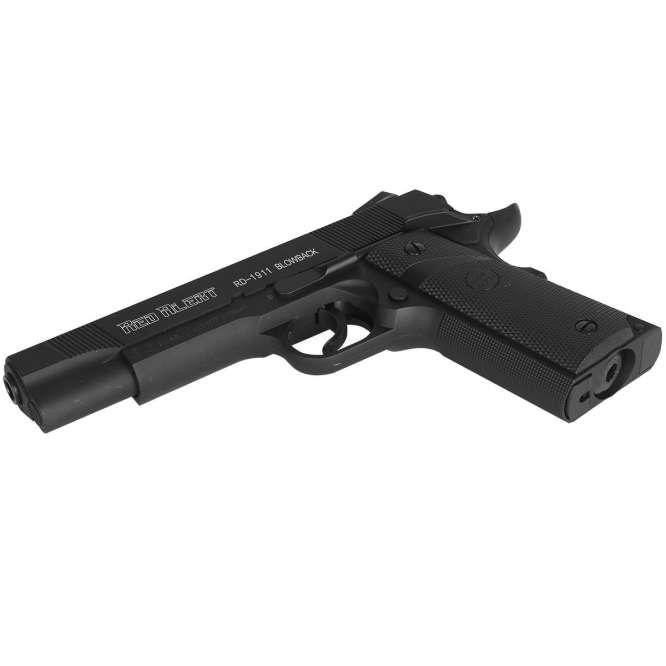 pistola pressao gamo rail gun 1911 braw 45mm 666x666 - Pistola de Pressão Gamo Red Alert 1911 CO2 Blow Back 4,5mm