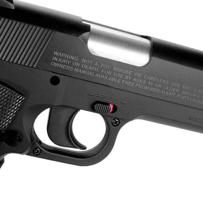 pistola pressao gamo red alert 1911 45mm 3 666x666 - Pistola de Pressão Gamo Red Alert 1911 4,5mm