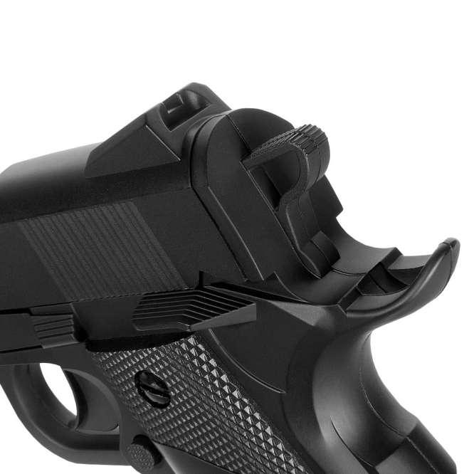 pistola pressao gamo red alert 1911 45mm 4 666x666 - Pistola de Pressão Gamo Red Alert 1911 4,5mm