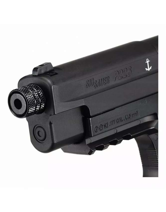 pistola pressao sig sauer p226 45mm 2 666x850 - Pistola Pressão Sig Sauer P226 4,5mm