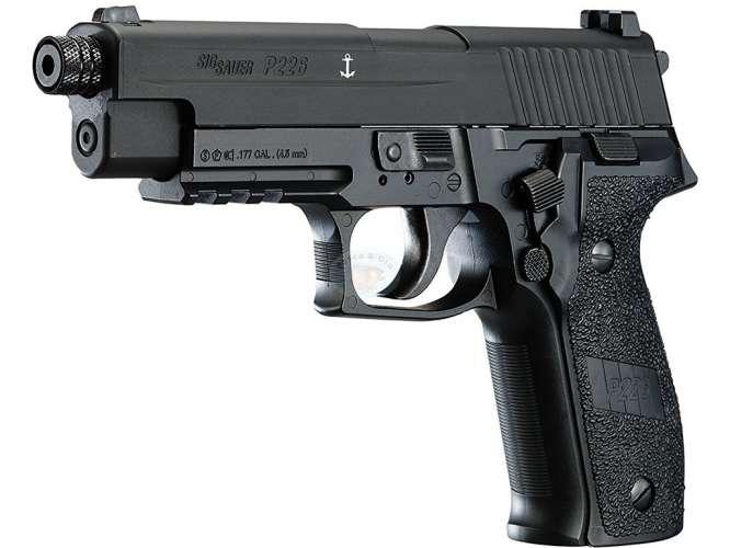 pistola pressao sig sauer p226 45mm 666x500 - Pistola Pressão Sig Sauer P226 4,5mm