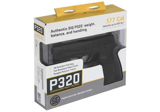pistola pressao sig sauer p320 45mm 1 666x466 - Pistola Pressão Sig Sauer P320 4,5mm