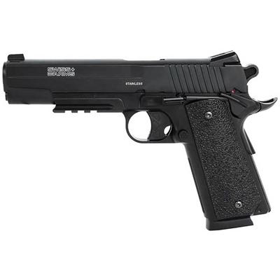 pistola pressao swiss arms sa 1911 full metal 4 - Pistola Pressão Swiss Arms SA 1911  Full Metal
