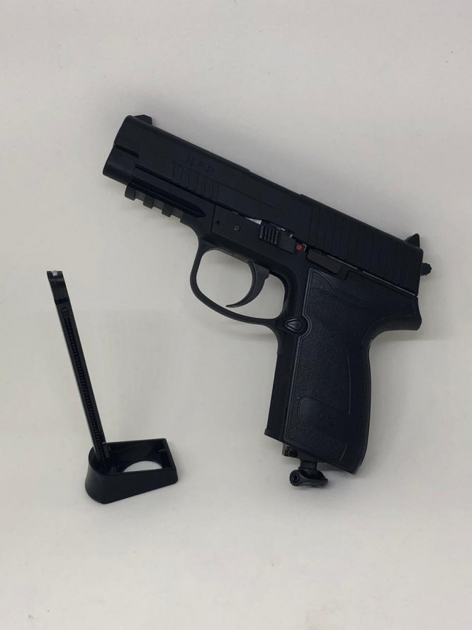 pistola pressao umarex hpp 45 15 t 3 666x888 - Pistola Pressão CO² Umarex HPP 4,5mm - Blow back