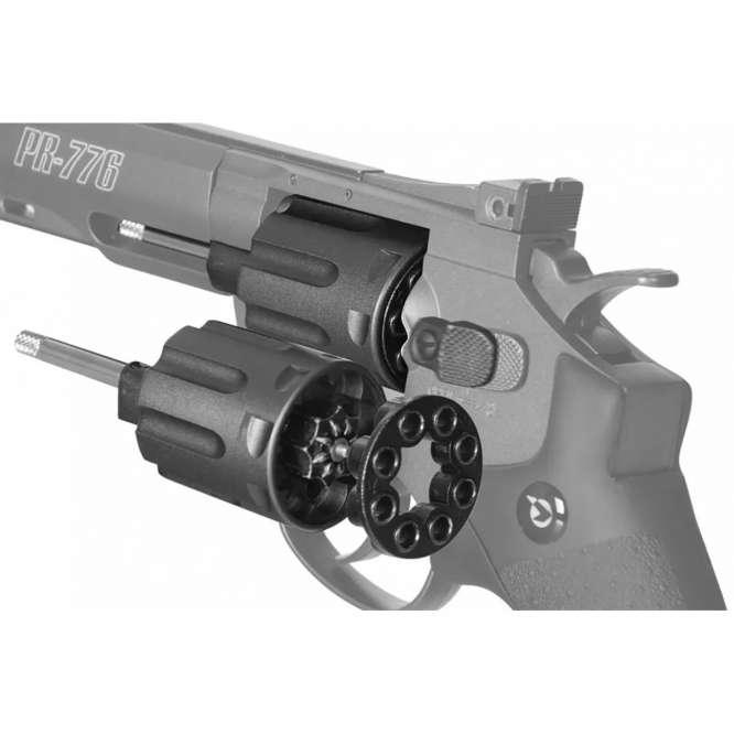 revolver pistola co2 gamo pr 776 45mm 8 tiros full metal D NQ NP 987267 MLB26884650907 022018 F 666x666 - Revolver Pressao Gamo Pr-776 4,5mm