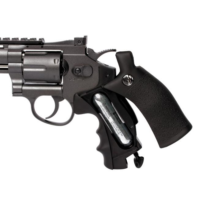 revolver pressao full metal rossi m701 45 - Revolver Pressão Full Metal Rossi M701 4,5mm