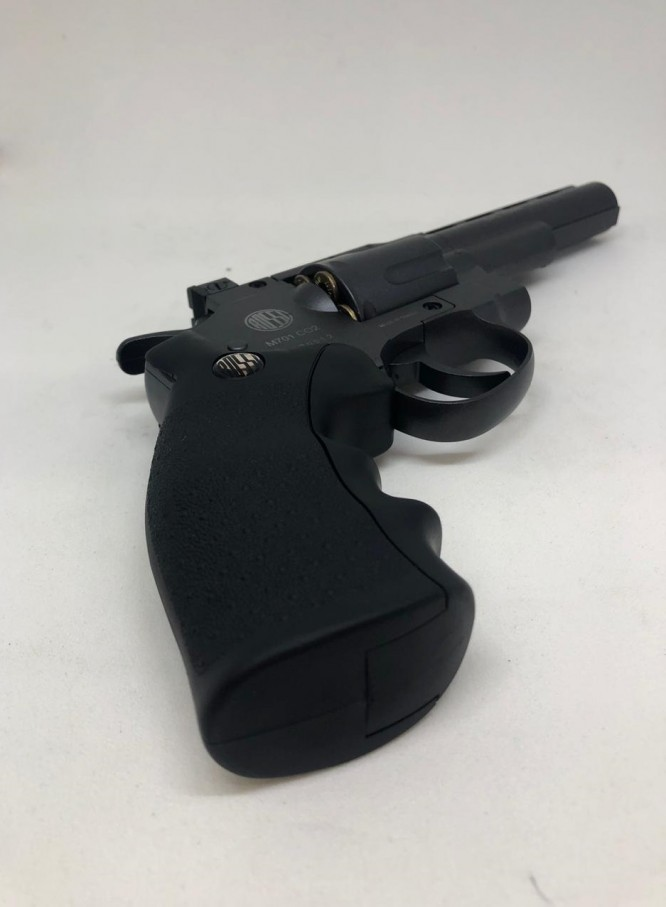 revolver pressao full metal rossi m701 45mm 666x907 - Revolver Pressão Full Metal Rossi M701 4,5mm