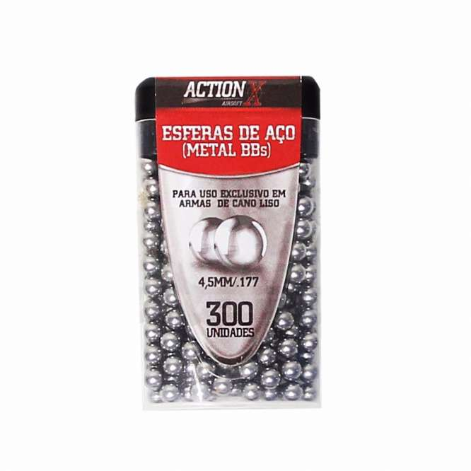 rossi. Actionxrossi 666x666 - Esfera De Aço Cal. 4,5mm - 300 Und. - Actionx/rossi