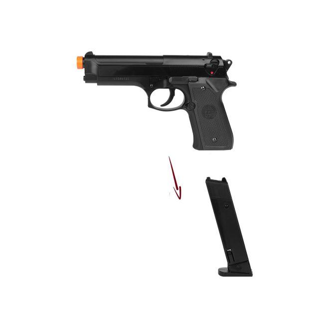 pistola airsoft kwc m92 3 - Pistola Airsoft KWC Beretta M92